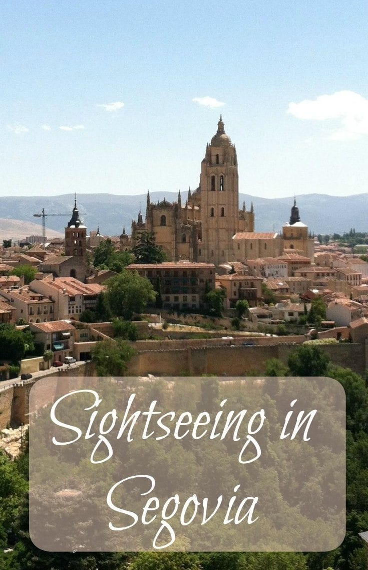 Sightseeing in Segovia with kids
