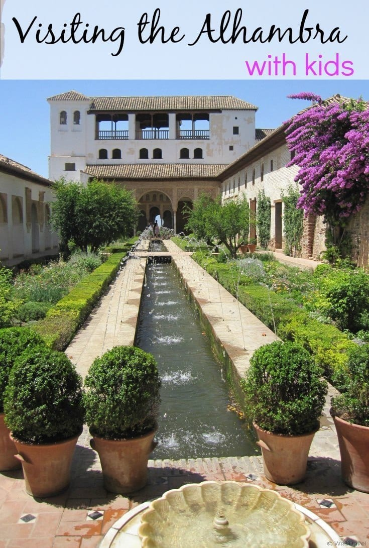 Tips for Visiting the Alhambra with kids