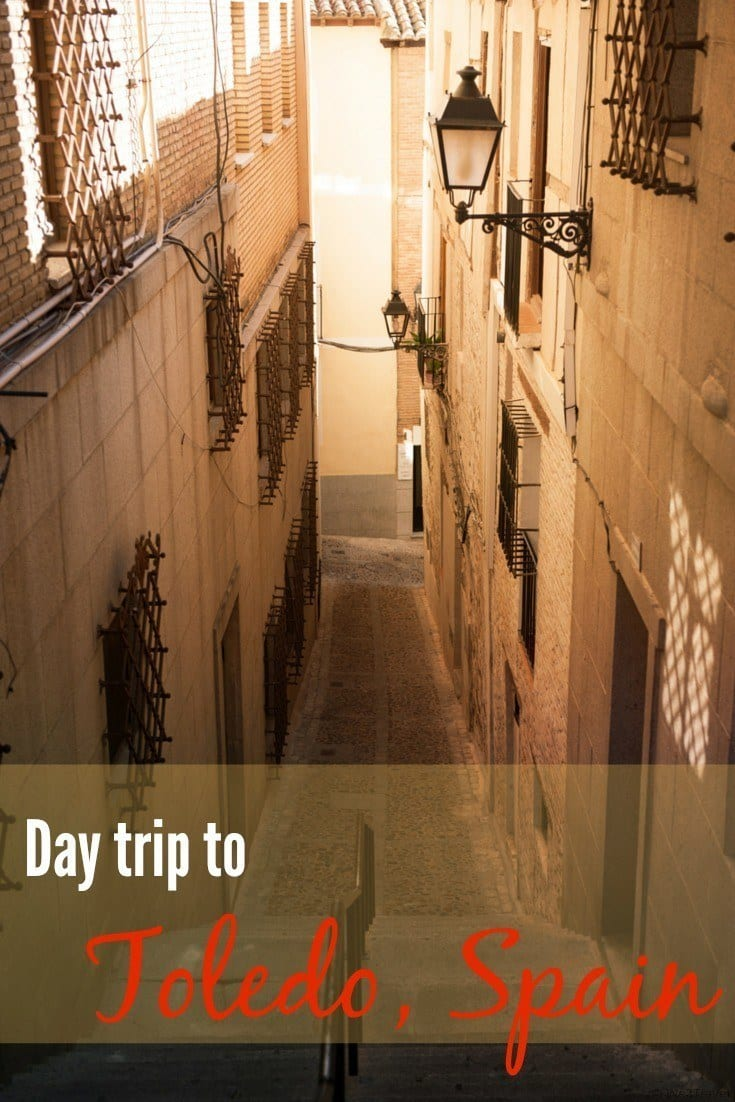 Day trip to Toledo Spain and advice on taking the train to Toledo.