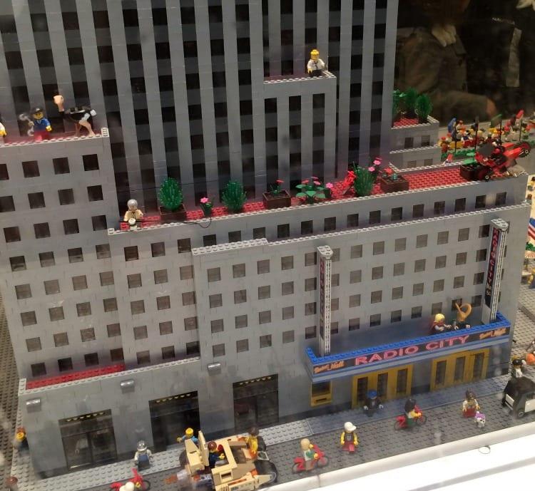 Lego Radio City Music Hall