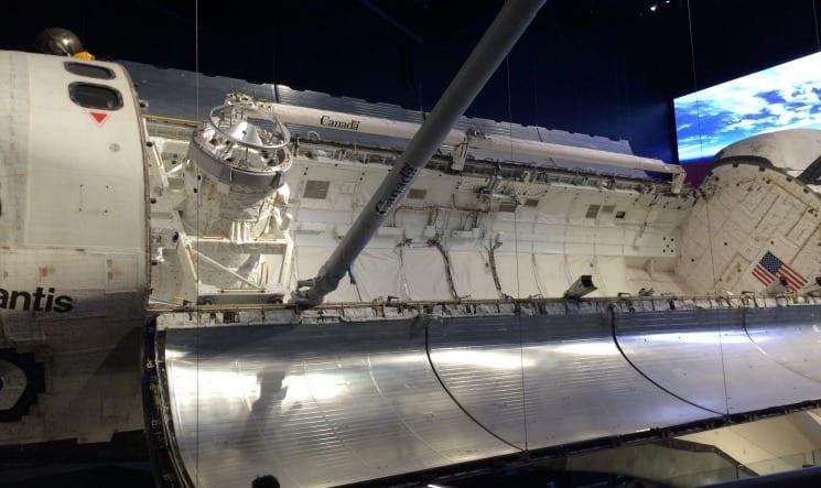 Space Shuttle Atlantis at Kennedy Space Center via We3Travel.com
