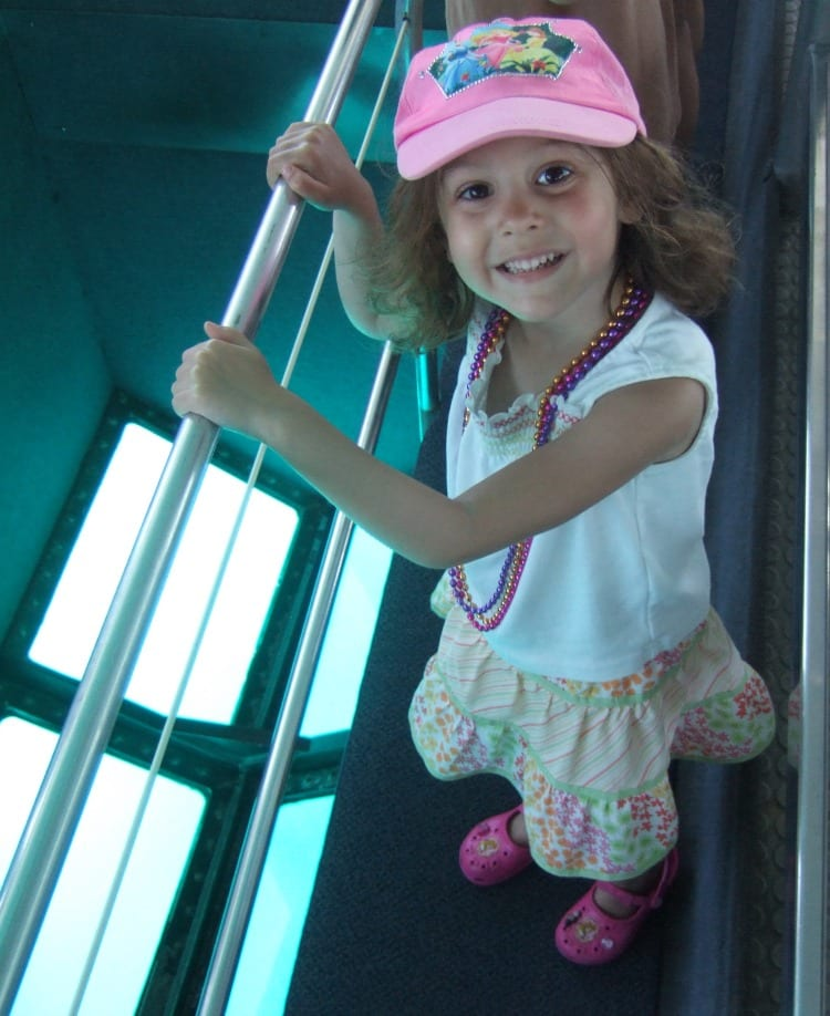Glassbottom boat floor from Family Fun in the Florida Keys via We3Travel.com