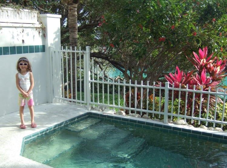 Villa plunge pool at Hawk's Cay on Duck Key, FL via We3Travel.com