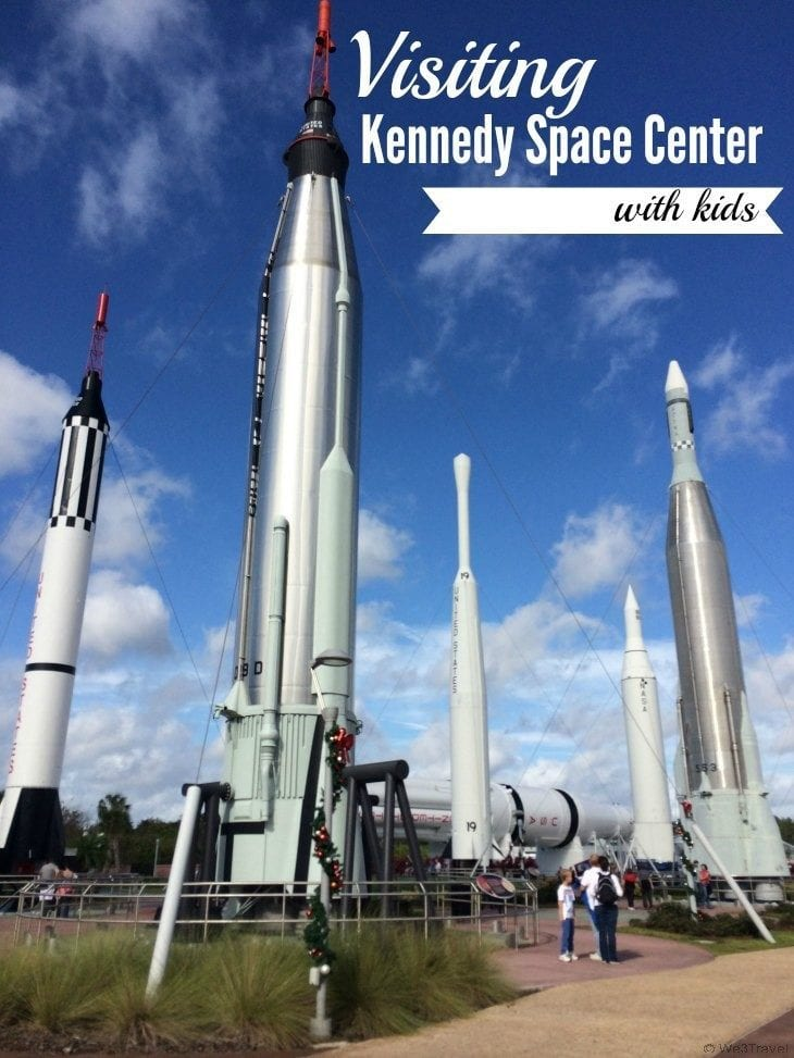 Visiting Kennedy Space Center with Kids