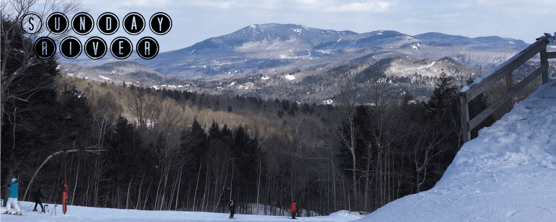 Skiing at Sunday River