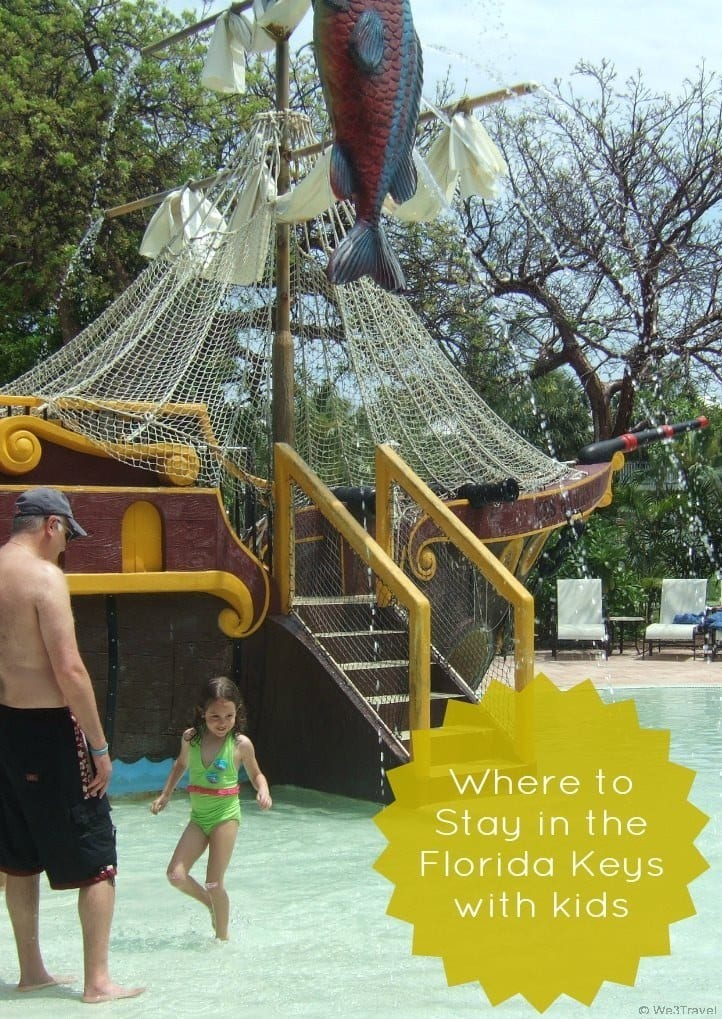 f you are looking for a great place for a family vacation in the Florida Keys, Hawk's Cay on Duck Key is a great place to stay in the Keys with kids. They have a great kids club, dolphin encounters, water sports, family size villas and a fun pirate pool for starters.