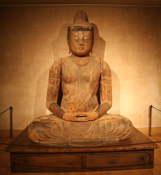 Buddha in the Asian Art Exhibit at the RISD Museum | Planning a Weekend Getaway to Providence | We3travel.com