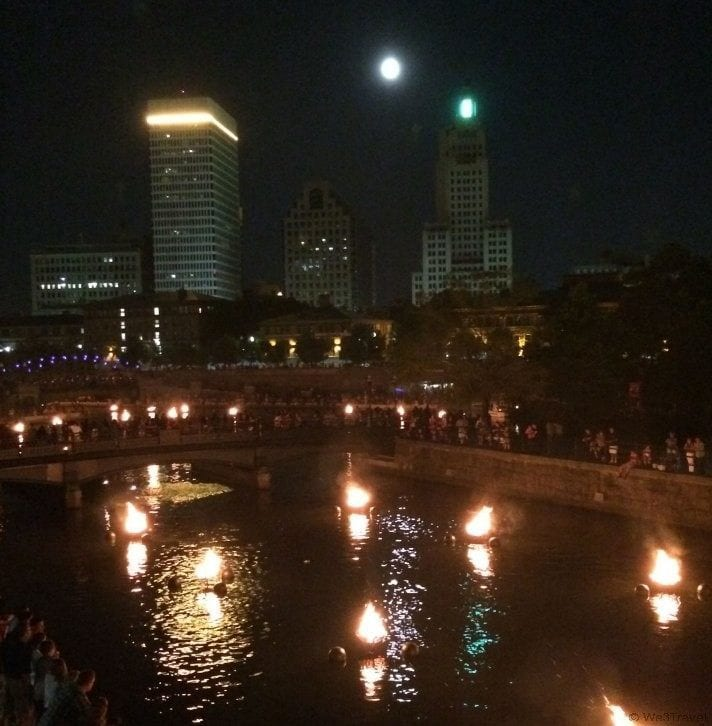 48 Hours in Providence: Waterfire