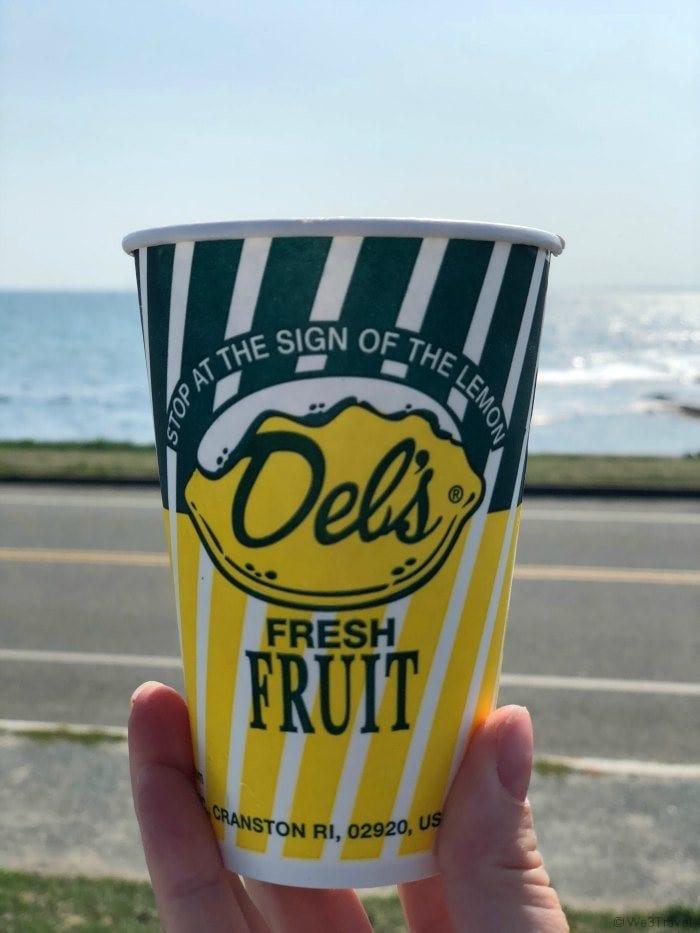 Rhode Island Foods - Del's Frozen Lemonade