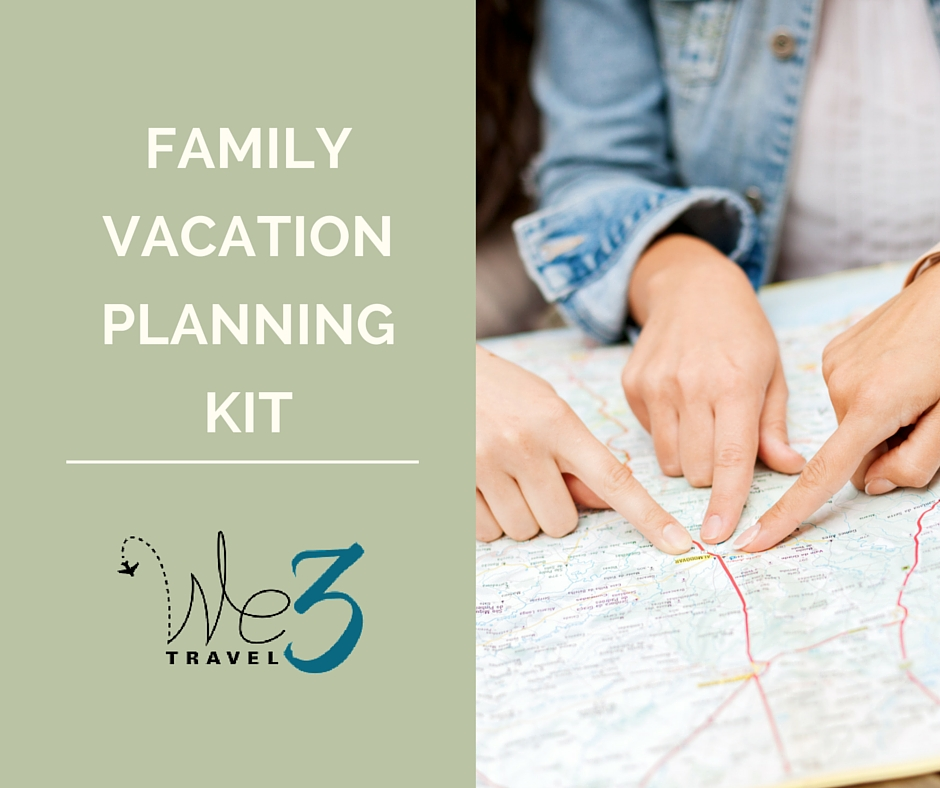 Family Vacation Planning Kit
