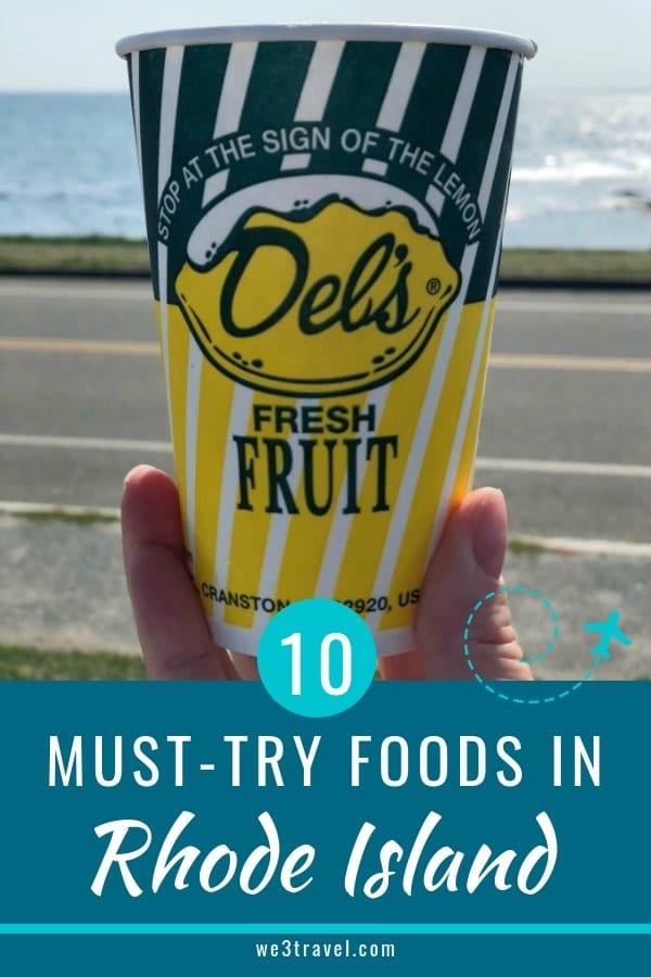 10 Must try foods in Rhode Island