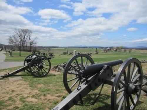2 Days in Gettysburg - touring the Gettysburg Battlefield