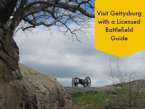 Visit Gettysburg with a Licensed Battlefield Guide