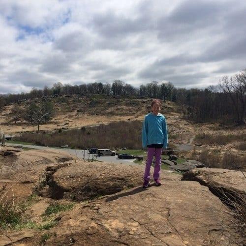 Devil's Den at Gettysburg National Military Park
