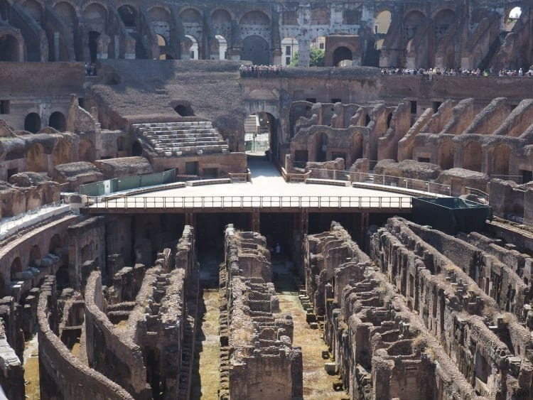 Overome review of the Colosseum and Ancient City Tour