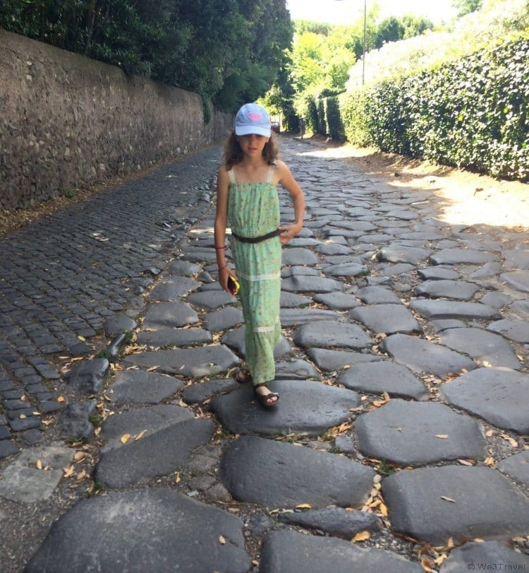 Appian Way on the Driving Tour of Rome with Walks of Italy - tour review from We3Travel.com