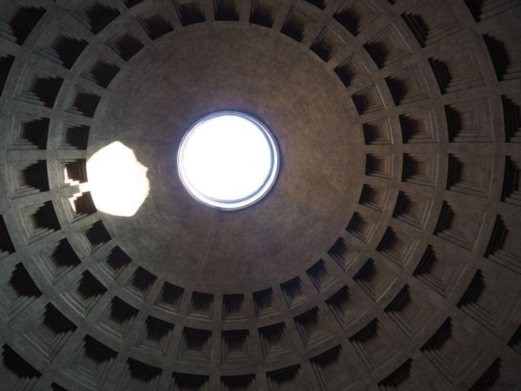 What to do in Rome with Kids - Visit the Pantheon