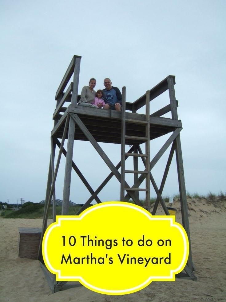 10 Things to do on Martha's Vineyard