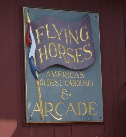 Flying horses carousel - 10 Things to do on Martha's Vineyard for First-timers