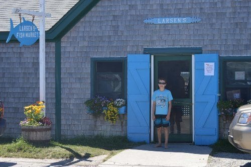 Larsen's Fish Market at Menemsha Beach on Martha's Vineyard