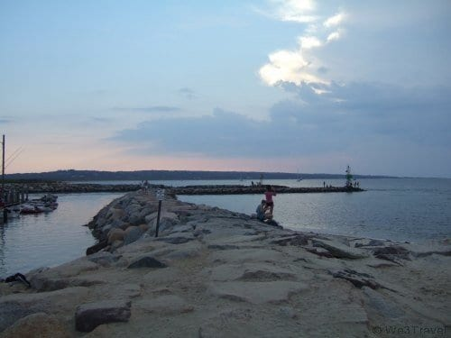 Menemsha at sunset - what to do in Martha's Vineyard with kids
