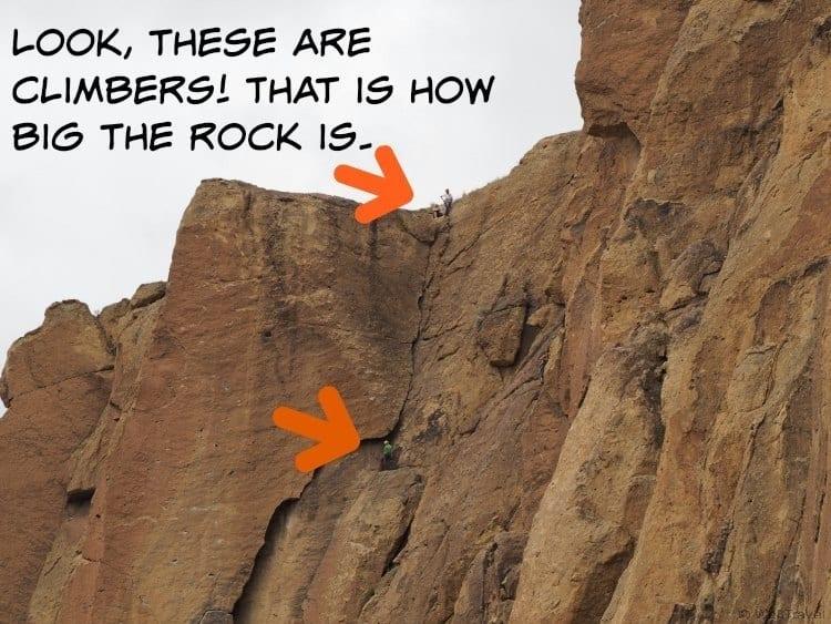 Rock Climbing at Smith Rock in Oregon