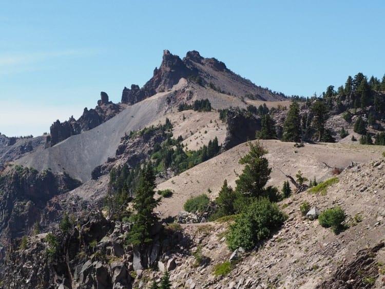Sun Notch Trail Crater Lake Oregon