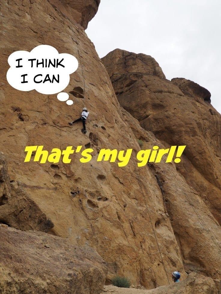 Rock Climbing Smith Rock Oregon