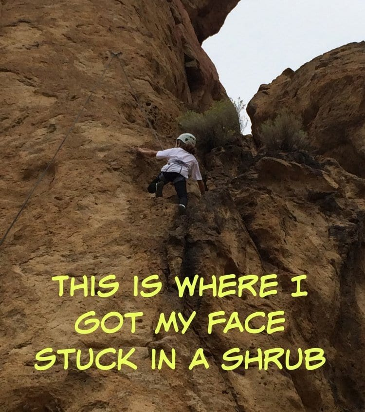 Rock Climbing at Smith Rock in Central Oregon