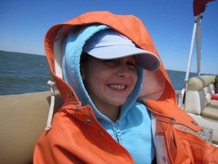 Captain Dan's pony boat tour in Chincoteague VA