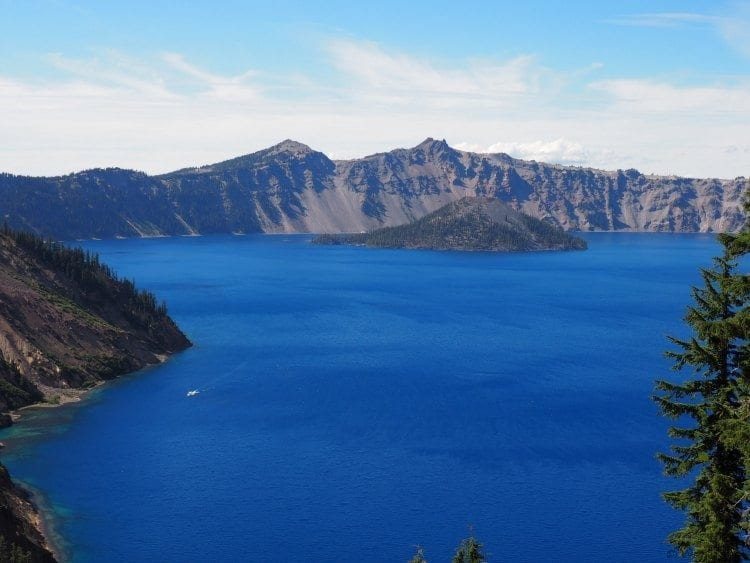 View of East Rim of Crater Lake