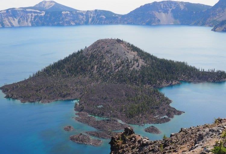 Wizard Island Crater Lake Oregon