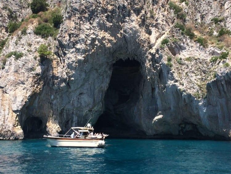 The White Grotto in Capri