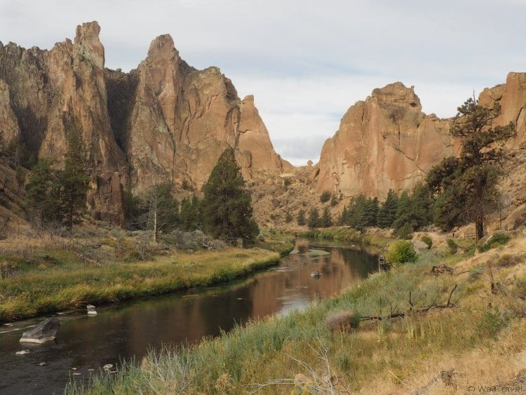 Rock climbing with Kids at Smith Rock State Park