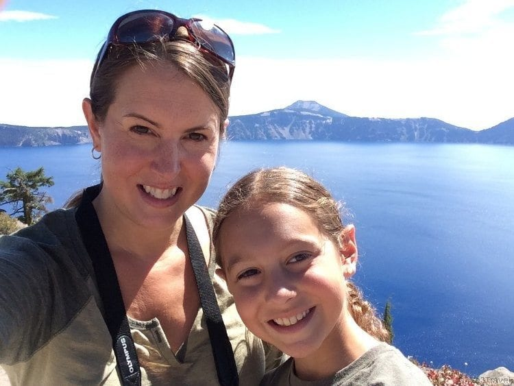 Crater Lake selfies
