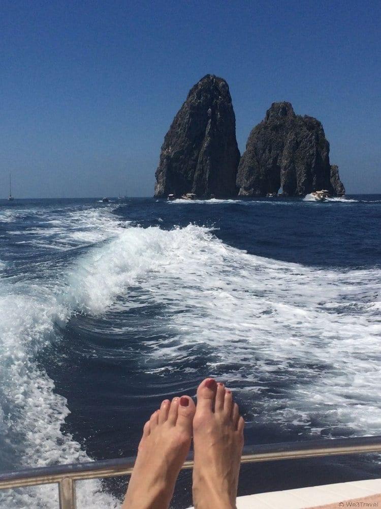 Living the posh life in Capri