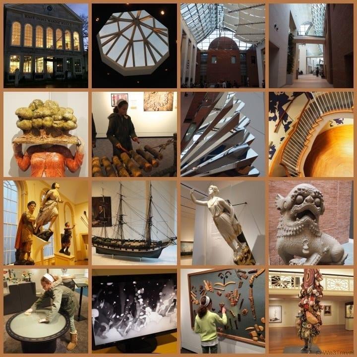 Peabody Essex Museum in Salem MA