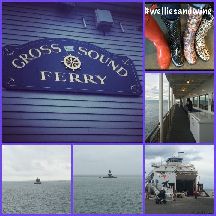 Taking the Cross Sound Ferry to the Long Island Wineries