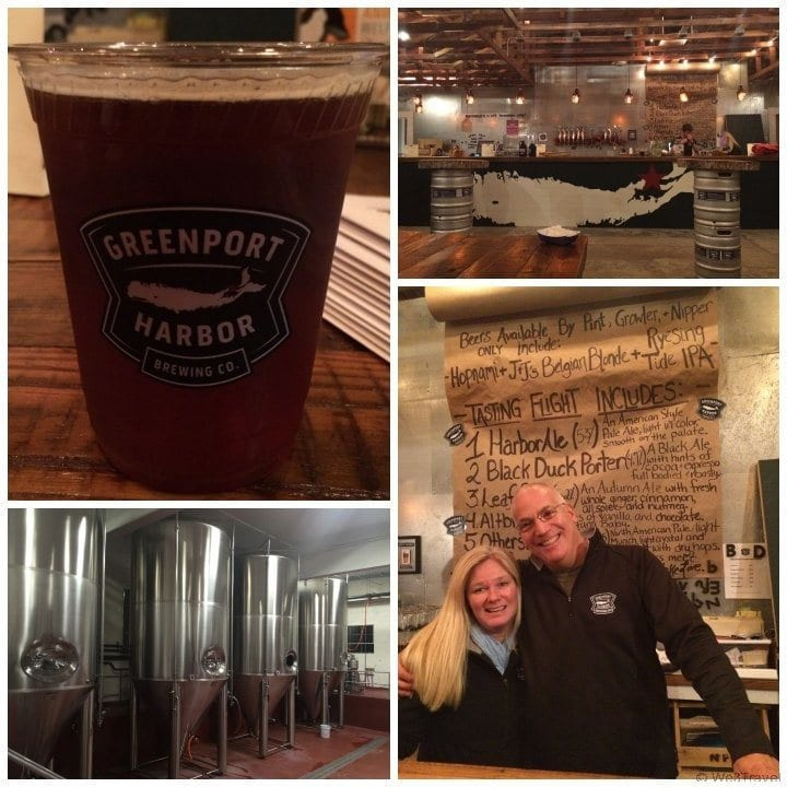 Greenport Harbor Brewery on the North Fork of Long Island