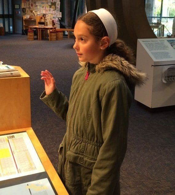 Junior Ranger program at the Salem Maritime National Historic site