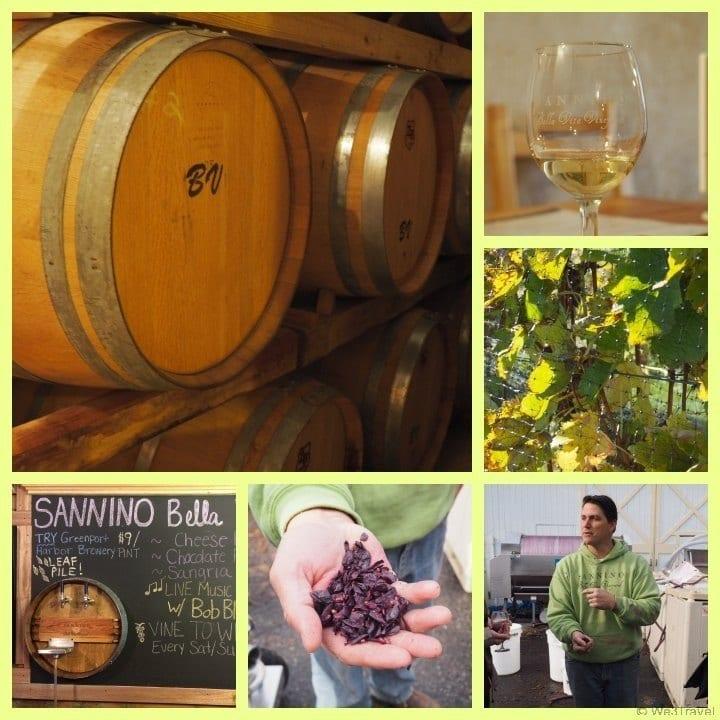 Sannino Bella Vita Vineyards Visiting the North Fork of Long Island Wineries