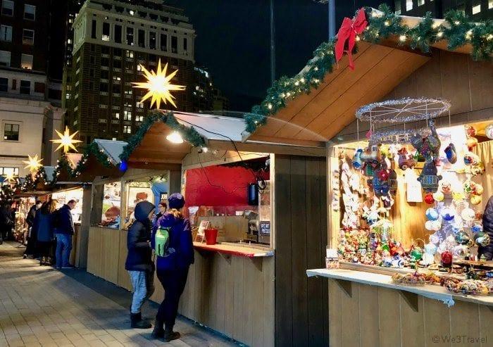 LOVE Park Christmas Village