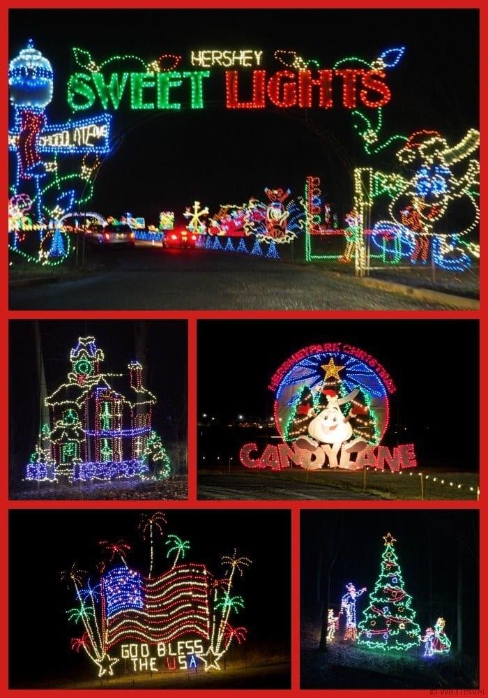 Christmas in Hershey -- take in the Hershey Sweet Lights