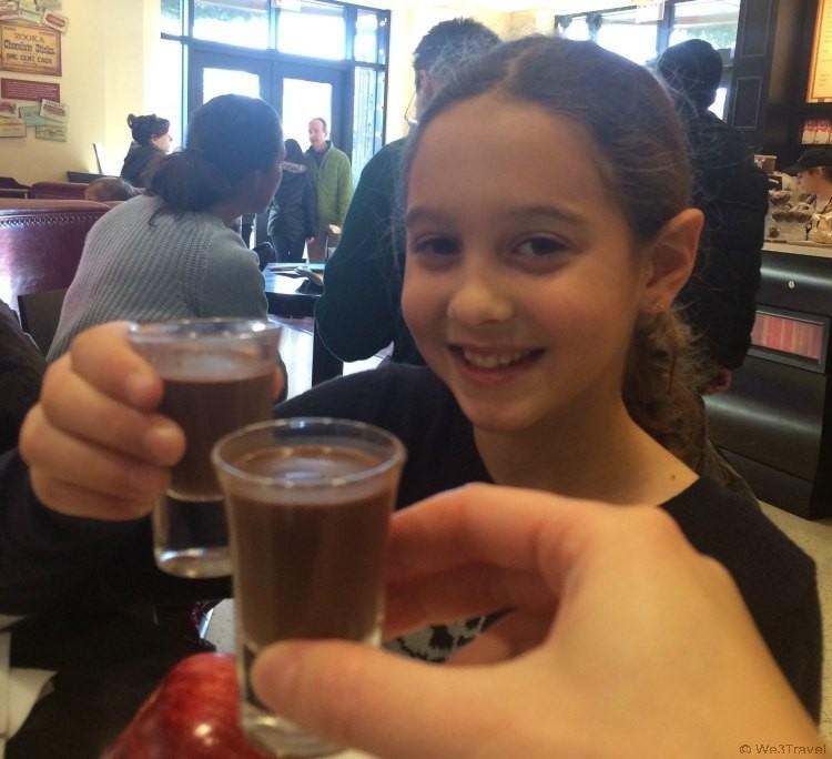 Chocolate tasting at The Hershey Story Museum