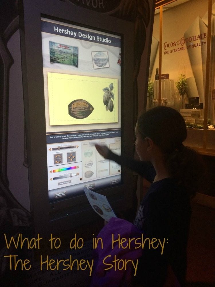 What to do in Hershey PA in Winter -- visit the Hershey Story Museum