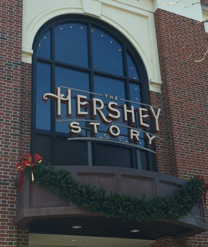 What to do in Hershey PA in Winter -- The Hershey Story museum