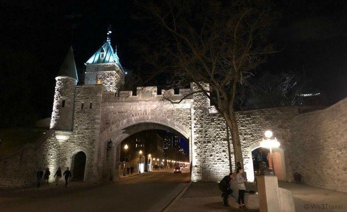Walls of Old Quebec