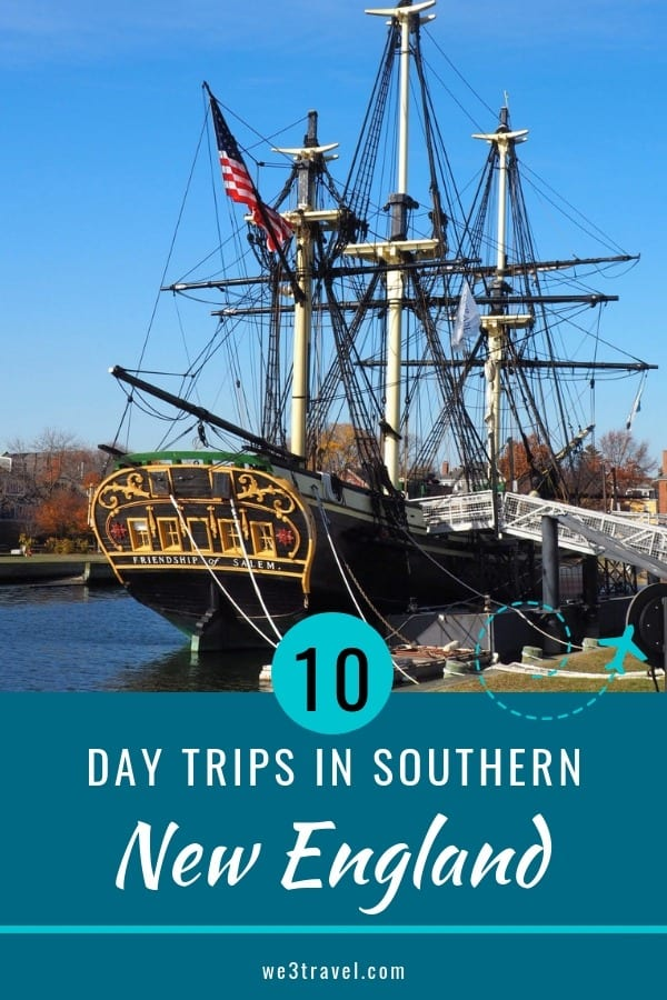 10 awesome day trips in Southern New England to fill in your school break or staycation. Rhode Island, Massachusetts, and Connecticut. #newengland #familytravel