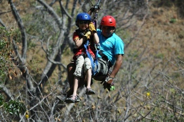 Ziplining in Costa Rica, a kid's perspective