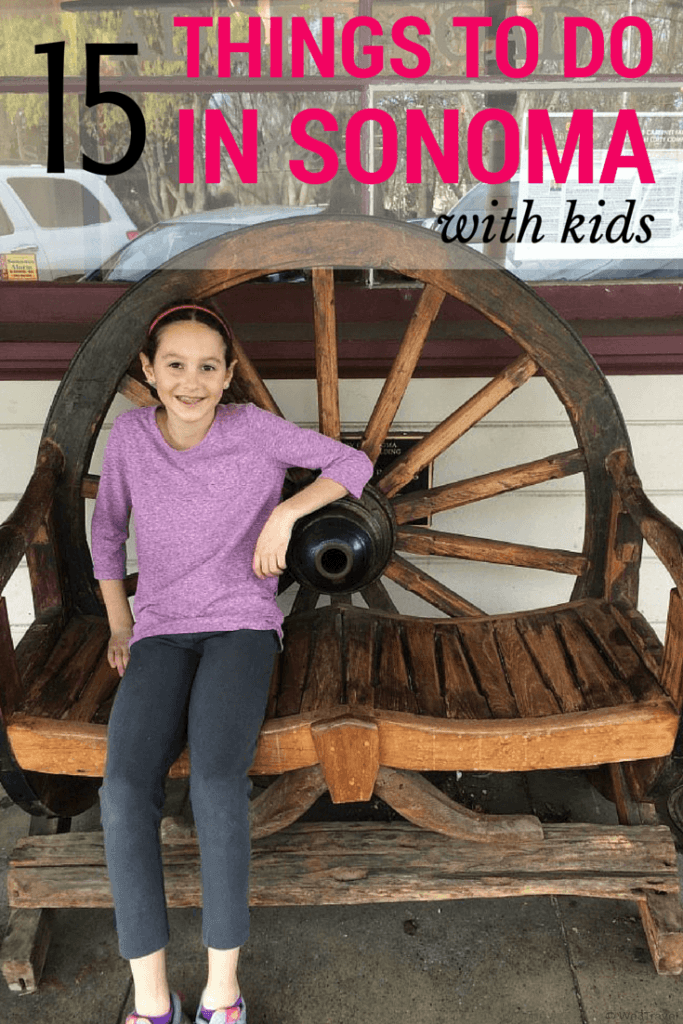 15 Things to do in Sonoma County, California with kids (that don't involve wine tasting!)